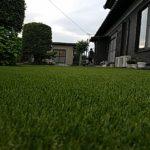 リアル人工芝施工事例 お庭 ①