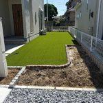 お庭人工芝施工店としての優位を確立