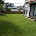 リアル人工芝 施工例 お庭 ⑤