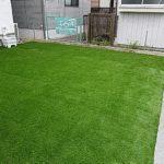 リアル人工芝 施工事例 お庭 25~50平米 ①