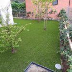 人工芝で景観維持